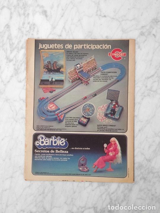 Coleccionismo Periódico La Vanguardia: EL JUGUETE - 1981 - AIRGAM BOYS, TENTE, EXIN, SCALEXTRIC, IBERTREN, TCR, CONGOST, BARBIE - Foto 6 - 217986662