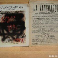 Coleccionismo Periódico La Vanguardia: LA VANGUARDIA CENTENARIO REVISTA Y FACSIMIL DEL Nº 1. Lote 218061437