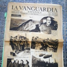 Coleccionismo Periódico La Vanguardia: LA VANGUARDIA ESPAÑOLA- 2°GUERRA MUNDIAL, 5 MARZO 1944.. Lote 218513665