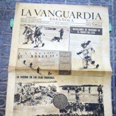 Coleccionismo Periódico La Vanguardia: LA VANGUARDIA ESPAÑOLA- 2°GUERRA MUNDIAL, 9 FEBRERO 1944.. Lote 218513916