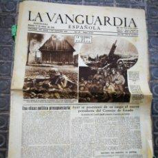 Coleccionismo Periódico La Vanguardia: LA VANGUARDIA ESPAÑOLA- 2°GUERRA MUNDIAL, 13 ENERO 1945.. Lote 218514296