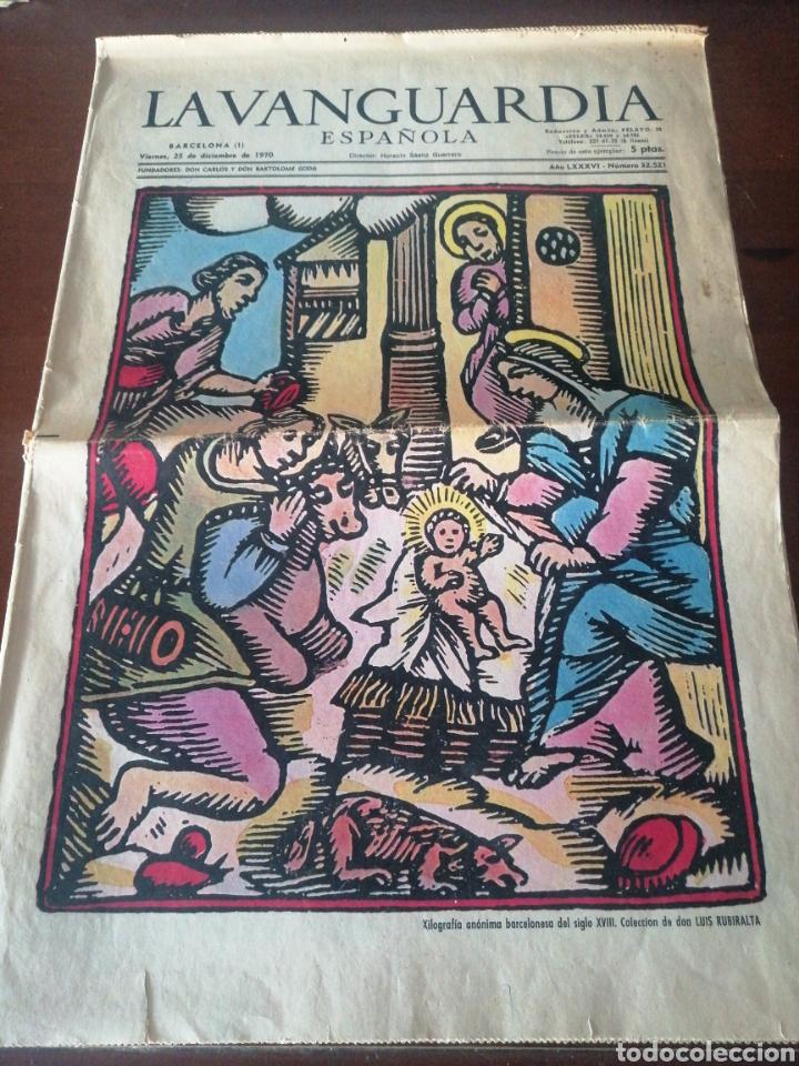 LA VANGUARDIA ESPAÑOLA 32521 25 DE DICIEMBRE DE 1970 NESTLÉ MARTINI FLOÏD LEIRO (Coleccionismo - Revistas y Periódicos Modernos (a partir de 1.940) - Periódico La Vanguardia)