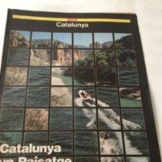 Coleccionismo Periódico La Vanguardia: CATALUNYA- UN PAISATGE PRIVILEGIAT- 1988- 24 PAGINAS. Lote 221227052