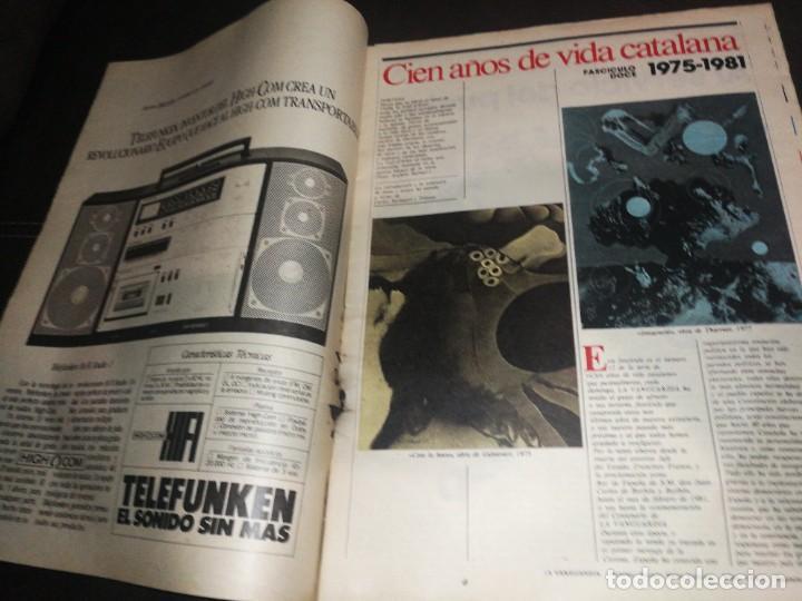 Coleccionismo Periódico La Vanguardia: LA VANGUARDIA, 100 AÑOS DE VIDA CATALANA, FASCICULO 12. - Foto 2 - 221994076
