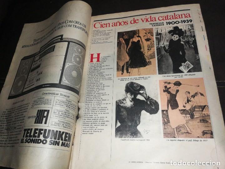 Coleccionismo Periódico La Vanguardia: LA VANGUARDIA, 100 AÑOS DE VIDA CATALANA, FASCICULO 14 - Foto 2 - 221994602