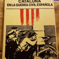Coleccionismo Periódico La Vanguardia: CATALUÑA- LA GUERRA CIVIL ESPAÑOLA - BIBLIOTECA LA VANGUARDIA. Lote 222266376