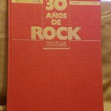 Coleccionismo Periódico La Vanguardia: 30 AÑOS DE ROCK - BIBLIOTECA LA VANGUARDIA. Lote 222267693