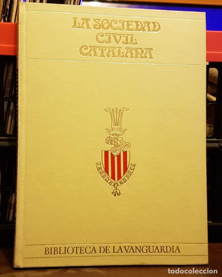 SOCIETAT CIVIL CATALANA - BIBLIOTECA LA VANGUARDIA (Coleccionismo - Revistas y Periódicos Modernos (a partir de 1.940) - Periódico La Vanguardia)