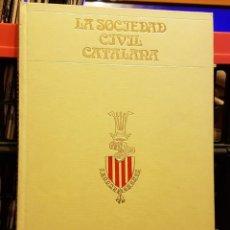 Coleccionismo Periódico La Vanguardia: SOCIETAT CIVIL CATALANA - BIBLIOTECA LA VANGUARDIA. Lote 222288733