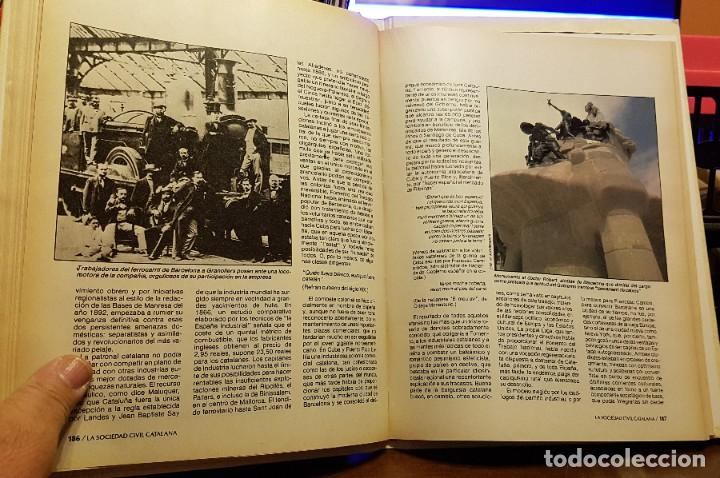 Coleccionismo Periódico La Vanguardia: SOCIETAT CIVIL CATALANA - BIBLIOTECA LA VANGUARDIA - Foto 2 - 222288733