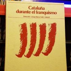 Coleccionismo Periódico La Vanguardia: CATALUNYA DURANTE EL FRANQUISMO - BIBLIOTECA LA VANGUARDIA. Lote 222288822