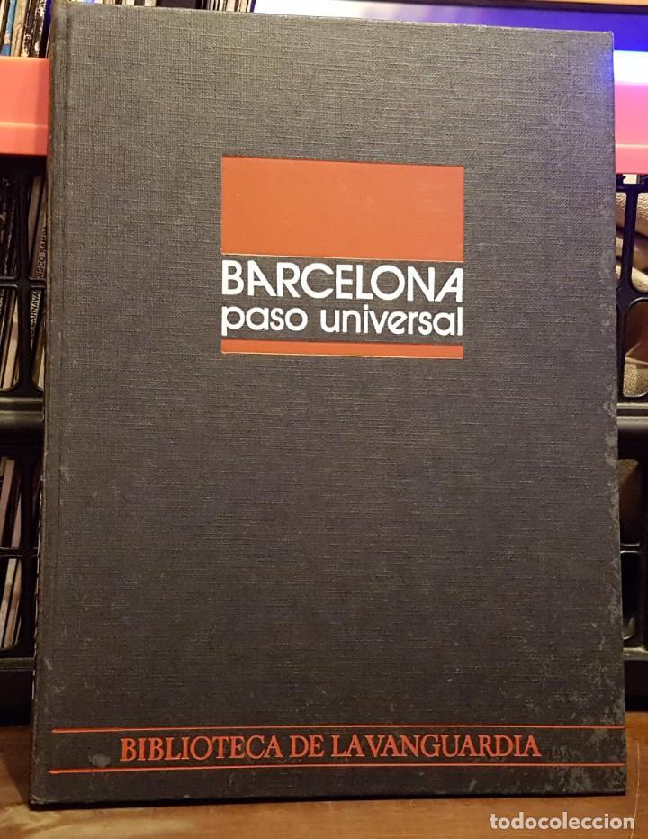 BARCELONA PASO UNIVERSAL - BIBLIOTECA LA VANGUARDIA (Coleccionismo - Revistas y Periódicos Modernos (a partir de 1.940) - Periódico La Vanguardia)
