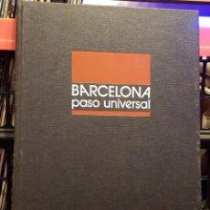 Coleccionismo Periódico La Vanguardia: BARCELONA PASO UNIVERSAL - BIBLIOTECA LA VANGUARDIA. Lote 222288875