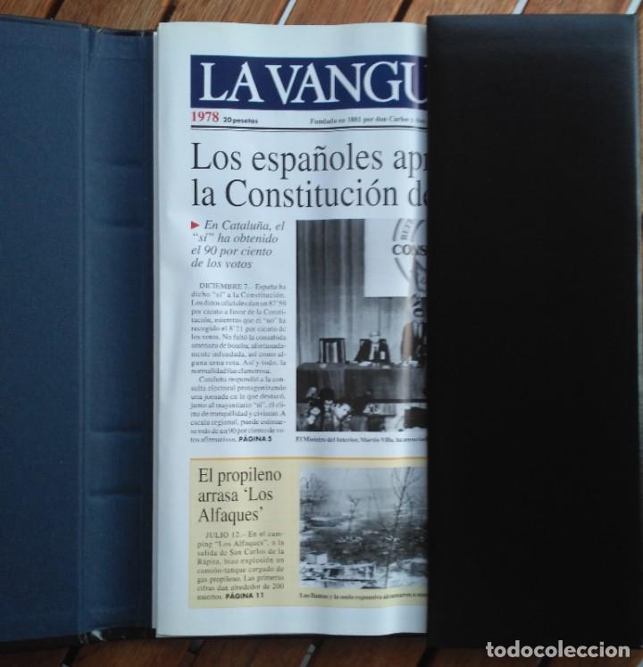 REVISTA LA VANGUARDIA DEL SIGLO XX 1978-1987 (Coleccionismo - Revistas y Periódicos Modernos (a partir de 1.940) - Periódico La Vanguardia)