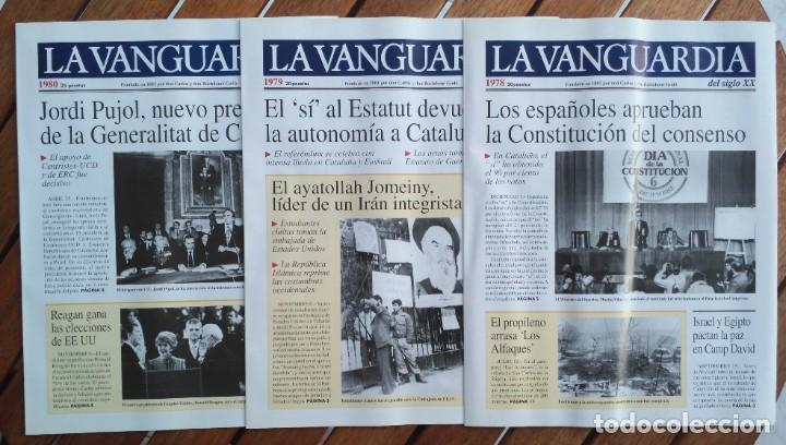 Coleccionismo Periódico La Vanguardia: REVISTA LA VANGUARDIA DEL SIGLO XX 1978-1987 - Foto 3 - 222796426