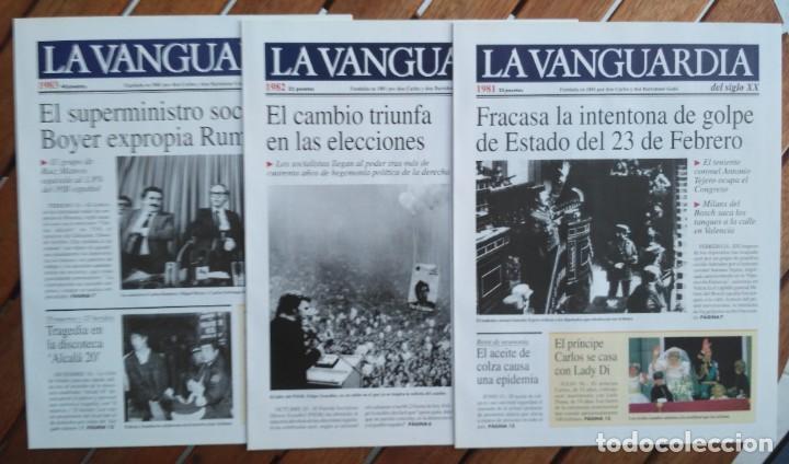 Coleccionismo Periódico La Vanguardia: REVISTA LA VANGUARDIA DEL SIGLO XX 1978-1987 - Foto 4 - 222796426