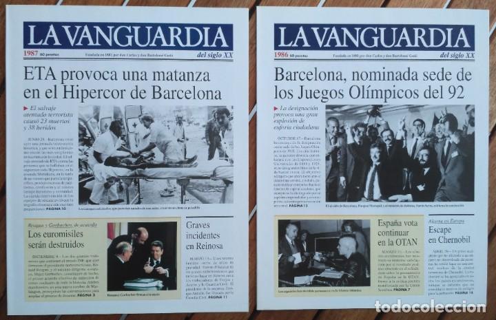 Coleccionismo Periódico La Vanguardia: REVISTA LA VANGUARDIA DEL SIGLO XX 1978-1987 - Foto 6 - 222796426