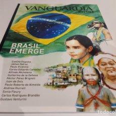 Coleccionismo Periódico La Vanguardia: VANGUARDIA DOSSIER / Nº 36 / BRASIL EMERGE / SEPTIEMBRE 2010 / NUEVA. Lote 227577650