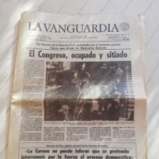 Collectionnisme Journal La Vanguardia: LA VANGUARDIA 23 F 1981. Lote 229699515