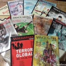 Coleccionismo Periódico La Vanguardia: 12 REVISTAS DE VANGUARDIA DOSSIER. Lote 229755045