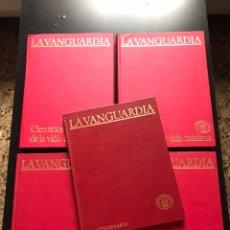 Coleccionismo Periódico La Vanguardia: CENTENARIO LA VANGUARDIA 1881-1981 4 TOMOS + 100 CIEN AÑOS DE PERIODISMO. Lote 231622075