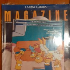 Collectionnisme Journal La Vanguardia: PRECINTADO! MAGAZINE LA VANGUARDIA JULIO 1991. CON TELEVANGUARDIA LOS SIMPSONS!. Lote 235798810