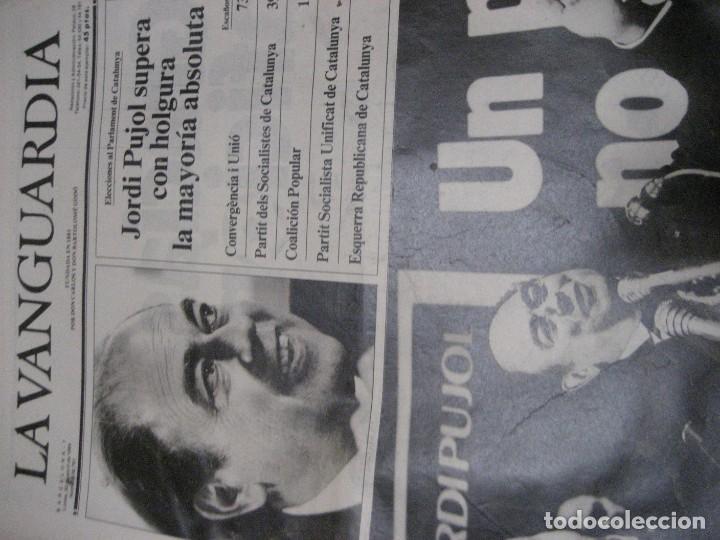 Coleccionismo Periódico La Vanguardia: lote 14 periodicos transicion la vanguardia 23 f golpe estado . retorno tarradelles felipe gonzalez - Foto 3 - 235884505