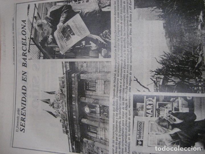 Coleccionismo Periódico La Vanguardia: lote 14 periodicos transicion la vanguardia 23 f golpe estado . retorno tarradelles felipe gonzalez - Foto 6 - 235884505
