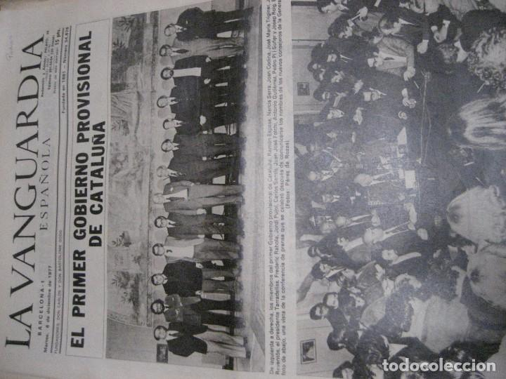 Coleccionismo Periódico La Vanguardia: lote 14 periodicos transicion la vanguardia 23 f golpe estado . retorno tarradelles felipe gonzalez - Foto 11 - 235884505