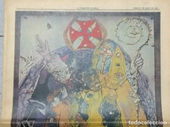 Coleccionismo Periódico La Vanguardia: SALVADOR DALI, SUPLEMENTO COMPLETO LA VANGUARDIA 31/05/1962. - Foto 2 - 236256780