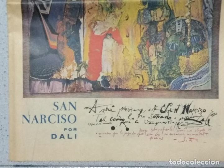 Coleccionismo Periódico La Vanguardia: SALVADOR DALI, SUPLEMENTO COMPLETO LA VANGUARDIA 31/05/1962. - Foto 3 - 236256780