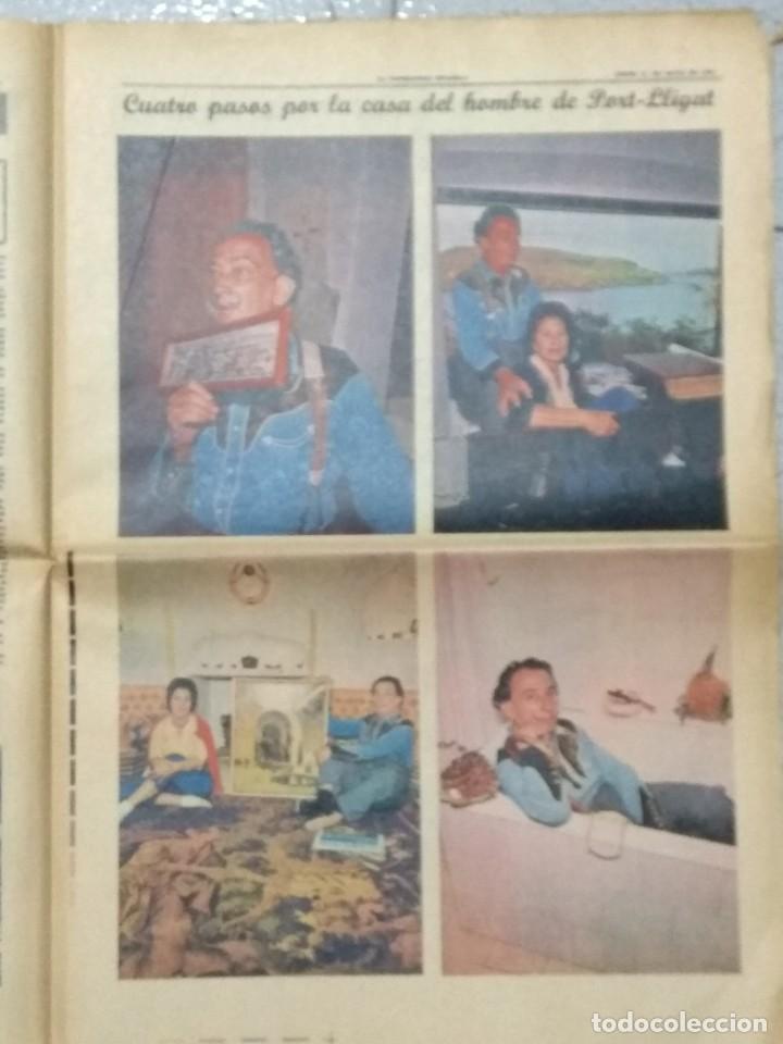 Coleccionismo Periódico La Vanguardia: SALVADOR DALI, SUPLEMENTO COMPLETO LA VANGUARDIA 31/05/1962. - Foto 5 - 236256780