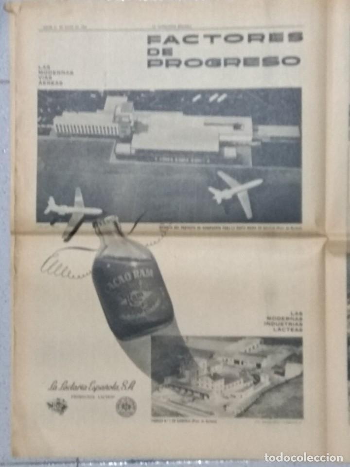 Coleccionismo Periódico La Vanguardia: SALVADOR DALI, SUPLEMENTO COMPLETO LA VANGUARDIA 31/05/1962. - Foto 6 - 236256780
