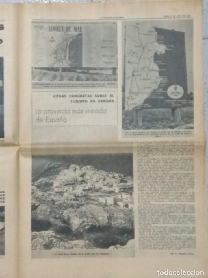 Coleccionismo Periódico La Vanguardia: SALVADOR DALI, SUPLEMENTO COMPLETO LA VANGUARDIA 31/05/1962. - Foto 7 - 236256780