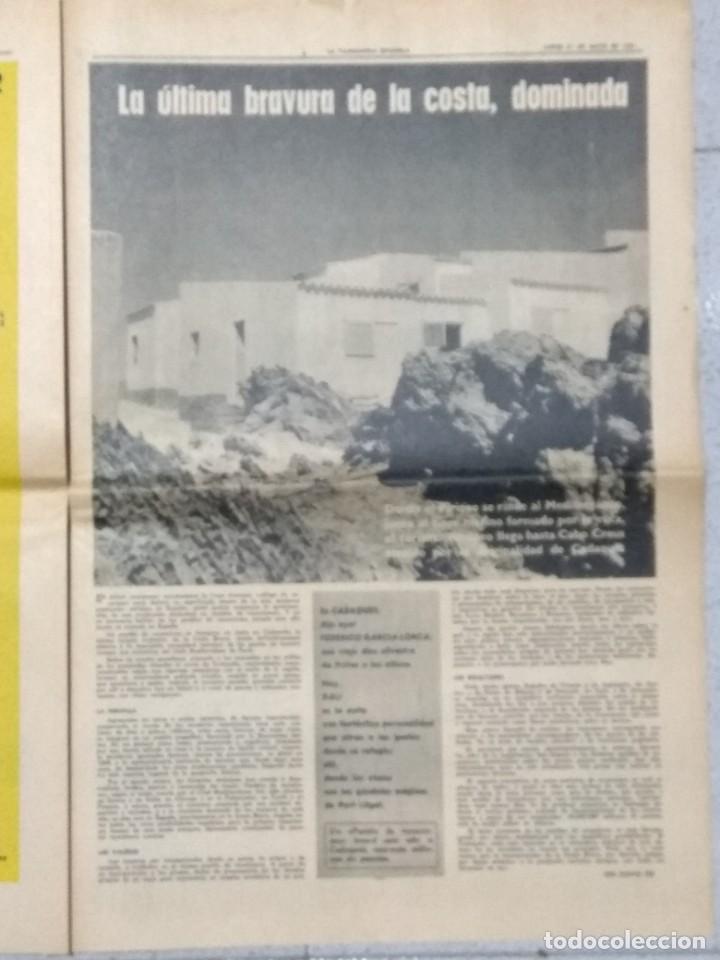 Coleccionismo Periódico La Vanguardia: SALVADOR DALI, SUPLEMENTO COMPLETO LA VANGUARDIA 31/05/1962. - Foto 9 - 236256780