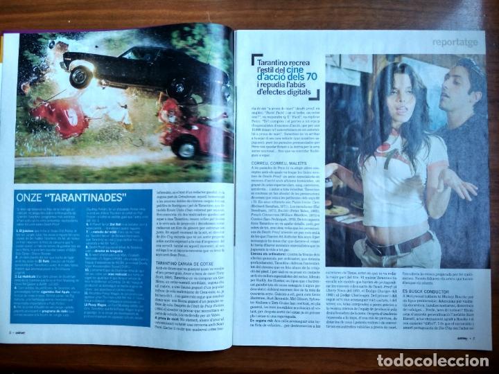 Coleccionismo Periódico La Vanguardia: REVISTA QUÈ FEM? LA VANGUARDIA TEMA DE PORTADA: DEATH PROOF QUENTIN TARANTINO 2007 - Foto 2 - 236662220