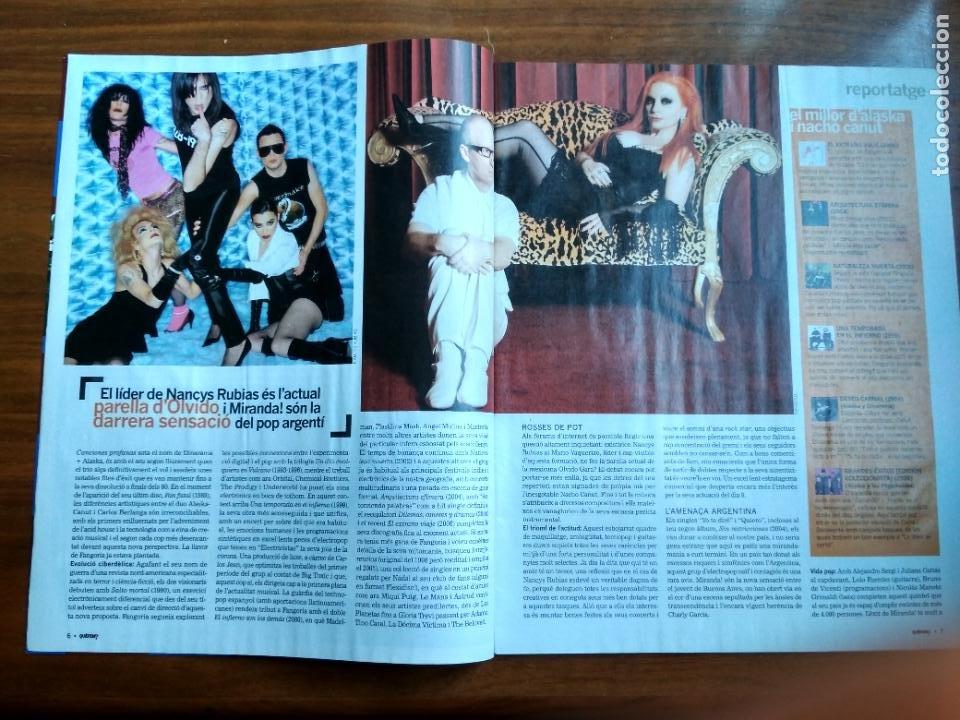 Coleccionismo Periódico La Vanguardia: REVISTA QUÈ FEM? LA VANGUARDIA TEMA DE PORTADA: FANGORIA ALASKA NANCYS RUBIAS MARIO VAQUERIZO 2007 - Foto 3 - 236662255