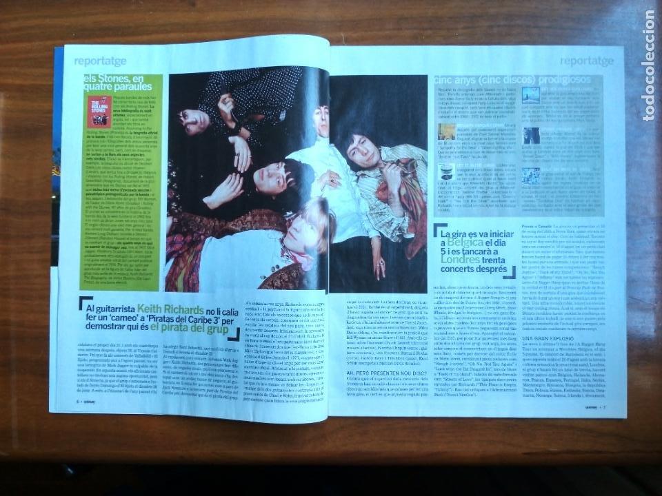 Coleccionismo Periódico La Vanguardia: REVISTA QUÈ FEM? LA VANGUARDIA TEMA DE PORTADA: ROLLING STONES EN CONCIERTO EN BARCELONA - Foto 3 - 236662335