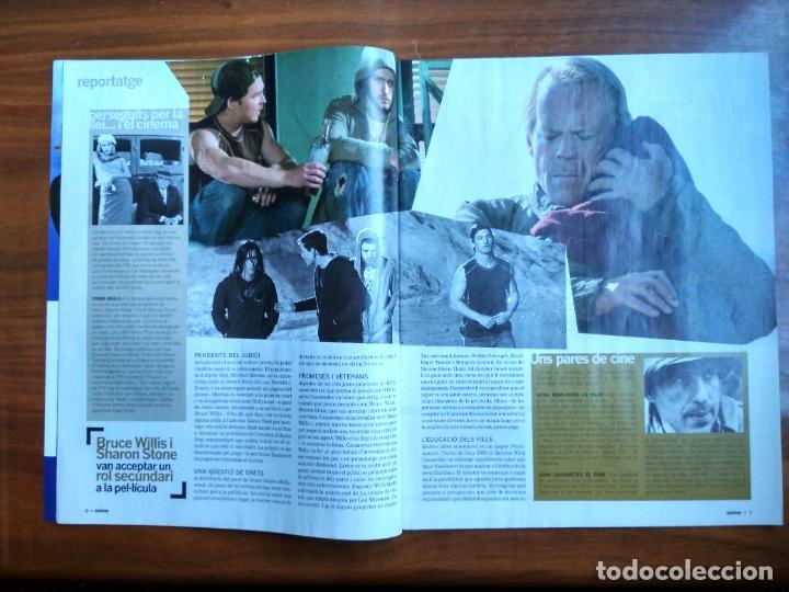 Coleccionismo Periódico La Vanguardia: REVISTA QUÈ FEM? LA VANGUARDIA TEMA DE PORTADA: ALPHA DOG BRUCE WILLIS JUSTIN TIMBERLAKE - Foto 3 - 236662425