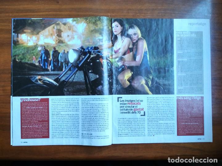 Coleccionismo Periódico La Vanguardia: REVISTA QUÈ FEM? LA VANGUARDIA TEMA DE PORTADA: PLANET TERROR ROBERT ROBRIGUEZ TARANTINO 2007 - Foto 4 - 236662495