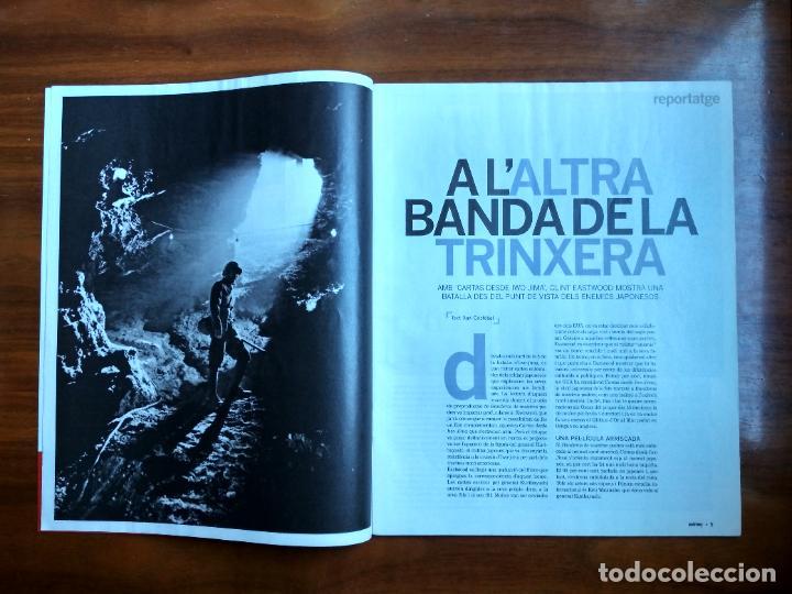 Coleccionismo Periódico La Vanguardia: REVISTA QUÈ FEM? LA VANGUARDIA TEMA DE PORTADA: CARTAS DESDE IWO JIMA CLINT EASTWOOD - Foto 2 - 236662555