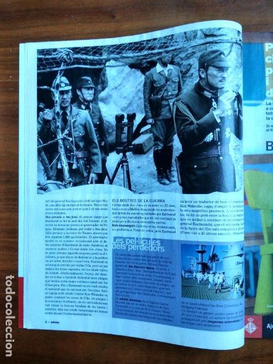 Coleccionismo Periódico La Vanguardia: REVISTA QUÈ FEM? LA VANGUARDIA TEMA DE PORTADA: CARTAS DESDE IWO JIMA CLINT EASTWOOD - Foto 4 - 236662555