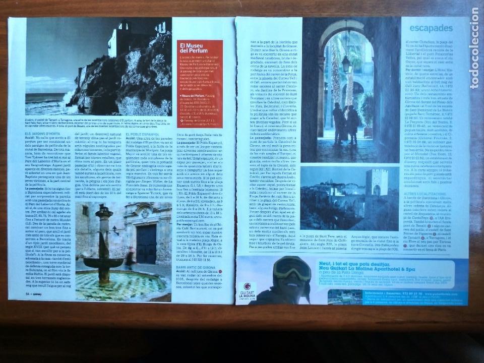 Coleccionismo Periódico La Vanguardia: REVISTA QUÈ FEM? LA VANGUARDIA RECORTE CLIPPING LA BARCELONA DEL EL PERFUME PATRICK SUSKIND - Foto 2 - 236666525