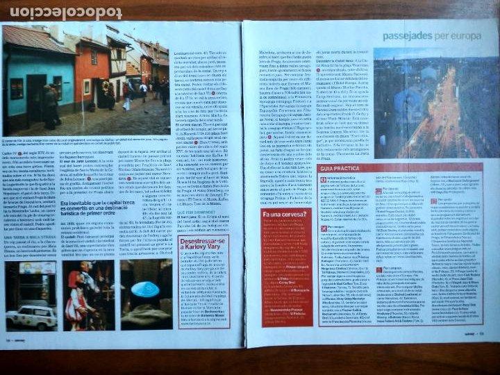 Coleccionismo Periódico La Vanguardia: REVISTA QUÈ FEM? LA VANGUARDIA RECORTE CLIPPING PASSEJADES EUROPA PRAGA - Foto 2 - 236666645