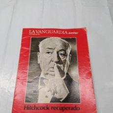 Coleccionismo Periódico La Vanguardia: LA VANGUARDIA 1984 ALFRED HITCHCOK. Lote 238112350