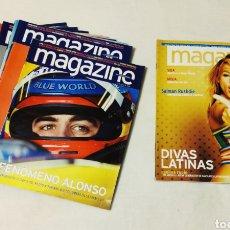 Colecionismo Jornal La Vanguardia: LOTE DE REVISTAS PÚBLICITARIAS MAGAZINE. LA VANGUARDIA. DIVAS LATINAS... Lote 240340820