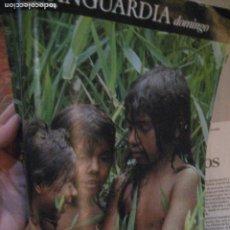 Coleccionismo Periódico La Vanguardia: SUPLEMENTO DOMINGO PERIODICO LA VANGUARDIA . 1984 COSTA RICA . MIQUEL BARCELÓ. Lote 240976010