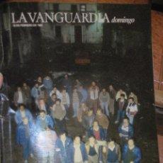 Coleccionismo Periódico La Vanguardia: SUPLEMENTO DOMINGO PERIODICO LA VANGUARDIA . 1985 . LOS SOLTEROS DE PLAN. Lote 241312625