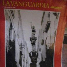Coleccionismo Periódico La Vanguardia: SUPLEMENTO DOMINGO PERIODICO LA VANGUARDIA . 1984 . CATALUNYA ENEL FRANQUISMO . MASANA FOTOGRAFO. Lote 241312755