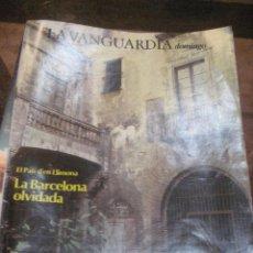 Coleccionismo Periódico La Vanguardia: SUPLEMENTO DOMINGO PERIODICO LA VANGUARDIA . 1983 . EL PATI D'EN LLIMONA . LOS SHERPAS. Lote 241313565